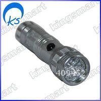 Grey Super 60LM 14 LED Light Flashlight Torch 80340