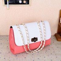 Free shipping-New pattern Korean leisure chain stereotypes shoulder bag  market popular women's handbag
