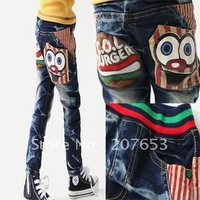 new arrival free shipping wholesale 5pcs/lot  children clothing kids wear  boy/girls jeans pant denim  pant causal pant