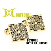 Cufflinks DDstore wholesale french cuff shirts button Fashion cuff links Metal cufflink elegant cufflink mens cuff links DD1139