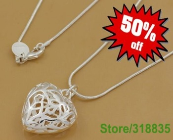 HOT ! free shipping.fashion jewelry.chains necklace.silver necklace.silver chains.925 sterling silver chains necklace.