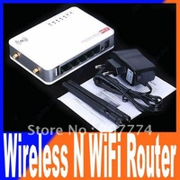 Portable 300M 3G/WAN Wireless N WiFi USB AP Router 2 Antennas EU plug Free shipping