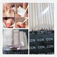 Wholesales 100pcs 11.5cm Orange Wood Sticks Nail Art Care Salon Cuticle Pusher Remover Manicure Tool ,free shipping