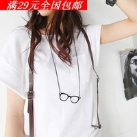 Free shipping wholesale ! eyeglass necklace fashion jewelry