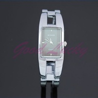 MODERN Silver KIMIO Fashion ALLOY CASE Bracelet Dial Women Quartz Watches K1601L-Black