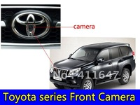 For Toyota -series   in car front camera. 170 Angle waterproof  HD CCD  camera & Free shipping
