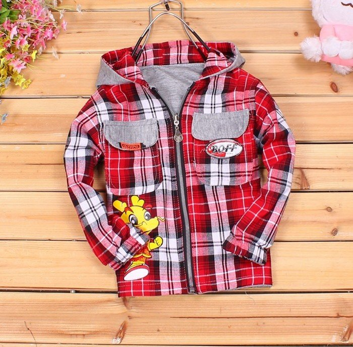 Free shipping baby boys hoodies cotton kids hooded coat fashion