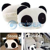 Panda Soft Neck/Headrest Car Office Travel Pillow Gift Free Shipping