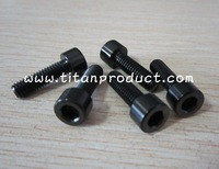 Gr.5 Titanium Disc Brake Caliper Bolt M6x20mm Black