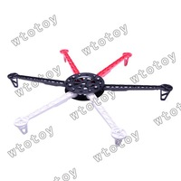 HJ600 6-axis Multi aircraft Quad-Rotor Multi RC Heli Flyer Frame wheel UFO 12988