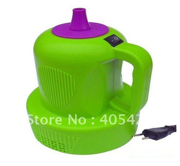 on sale ! / one nozzle electric air inflator pump,Balloon inflatable tube,Foil Balloons Wedding, festival items 1psc/lot