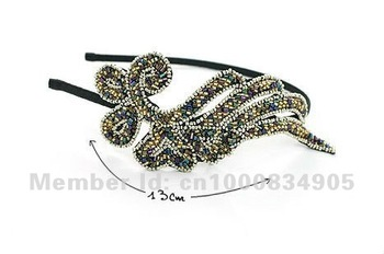 Hair jewelry Metal hair clips Metal leaf shape Hair Stick in Free shipping