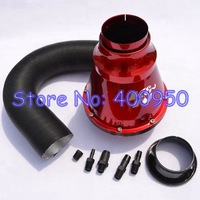 Free Shipping KN APOLLO Closed Intake System Air Intake Filter Red