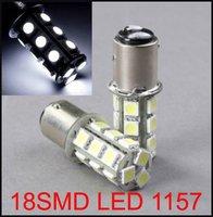 White 1157 18SMD 5050 1016 1034 7528 Car bulbs Led Brake light Stop Turn Tail Free Shipping