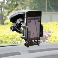 Free shipping wholesale popular high quality  esay to use car mounting bracket for iphone 4s car holder for GPS
