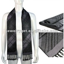 Wholsale 100 viscose western wear scarf Fashion men tassel scarf NL 1833
