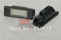 Free shipping Racing Dash LED License Plate Lamp for Peugeot 207 CC 308 508 for Citroen C2