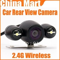 2.4G Wireless GPS Night Vision Car Rear View Backup Reverse Camera NTSC Free Shipping + Drop Shipping