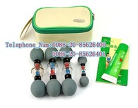 free shipping, wholesale &retail haci Magnetic Acupressure Suction Cup,haci wuxing zhen (Classical 8 cups )