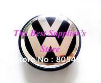 5pcs Top Quality 3D Chrome Badge VW Touareg Wheel Center Cap 76MM