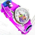 Hot sale cartoon batman watch children watch kids wristwatch Xmas Gifts mix colors 20pcs/lot