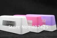 220V WHITE/9W UV Lamp Curing Lamp UV Light For Nail Art UV Gel CE * Free Shipping