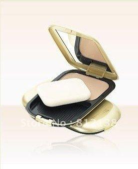 Free Shipping 100% Guarantee NEW brand face finity compact natural color , make up powder SPF 15 , 10g,  6pcs/lot