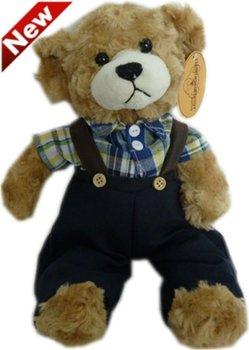 Freeshipping Discount Plush Animal Mini Plush Teddy Bear Toys Brown 10pcs/lot Wholesale