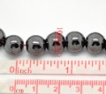 Wholesale 10mm Black Hematite Round Beads 40pcs/strand 2Strands/lot Gemstone Loose Beads Fit Shamballa Bracelet Necklace