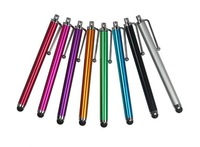 wholesaler free shipping fedex  /Mix Capacitive screen Metal stylus touch pen  for iphone/iPad/iPod  without packing
