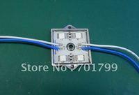5050 SMD LED module,with metal case,blue color,DC12V,20pcs a string