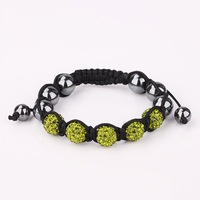 New Arrived Shamballa Crystal Bracelet, Wholesale Europe Style DIY Shamballa Bracelet  SA060