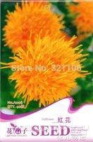 5 Pack 200 Seeds, Chinese Medicine Saffron Flower Seeds HOT! A008