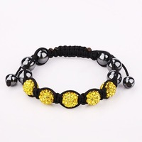 New Arrived Shamballa Crystal Bracelet, Wholesale Europe Style DIY Shamballa Bracelet  SA059