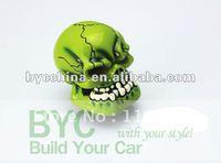 Skull Shape Racing Gear Shifting Knob, Unique Shifting Knob-Green