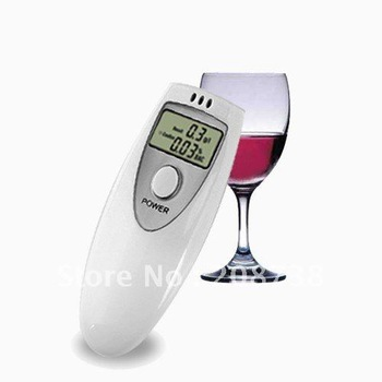 Free shipping Alcohol Breath Test Detector Breathalyzer Breathalizer