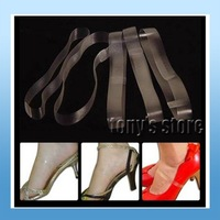 Wholesale Shoe helper clear transparent Shoes girding band shoe tie don't worry about the big size of high-heeled shoes