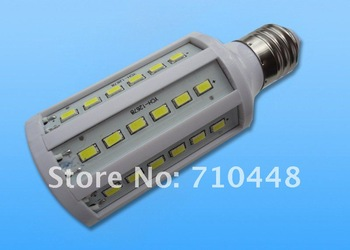 Free shipping 6pcs/lot 20W led corn light with 60 5630 smd  E27 base white color for commercial light warranty 1 year