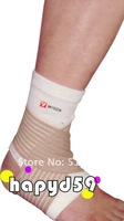 free ship ankle support winding elastic bandage badminton basketball tennis sport protectors