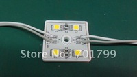 4 Leds SMD 5050 Led Module;warm white color;led module