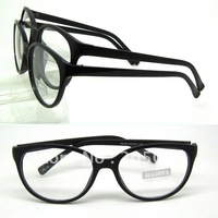 Wholesale 78108 accetate plank solid color Restore ancient rim solid color side arm single vision or optical eyeglass frames