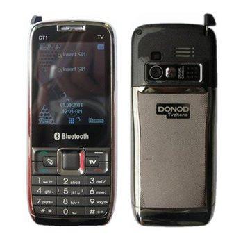 free shipping Donod  D71 TV Dual Sim Dual TF Slot Big Memory unlocked phone