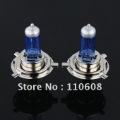 Free Shipping Auto Car Head Light Bulbs Lamp H4 P43T HID Halogen 6500K White DC 12V 60W 55W Long Service Life 2pcs 1pair ##748