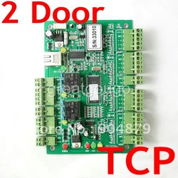 Web Based/Webserver TCP/IP 2 door 4 Readers Access Control Controller Board &amp; Software(support Fingerprint+CCTV+Access device(China (Mainland))