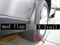 Free shipping!  Mud guard Mud Flaps Mud for Nissan X-Trail 2008 2009 2010 2011