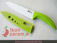"Free Shipping! High Quality Zirconia New 100% 6"" Scabbard Ceramic Knife(AJ-D6001W-GG)"