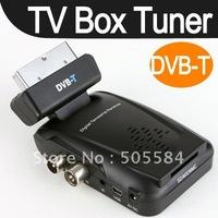 NEW Freeview Digital TV Reciever Tuner Scart Set Top Box DVB T ANALOG TO DIGITAL TV Terrestrial Receiver