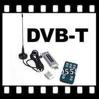 Mini USB2.0 DVB-T Dongle Digital TV Stick tuner receiver for Laptop PC