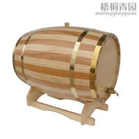 free shipping 10L wooden Oak Wine Aging wood Barrel Rum Cask Beer Keg