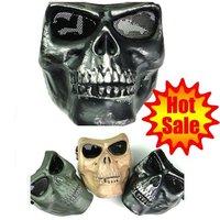 tactical masks skeleton tactical mask  Silver Black  (03-SB)